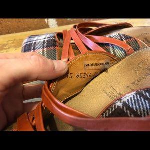 Vintage Shoes - Think! Hungarian comfort slide on shoes 38EU